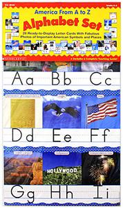 America From A to Z: Alphabet Set