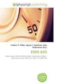 EMD 645: Diesel engine, Electro-Motive Diesel, Locomotive, Ocean, Stationary engine, EMD 567, EMD 710, EMD 265