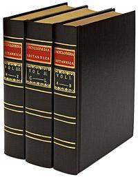 Britannica First Edition Replica Set (комплект из 3 томов)