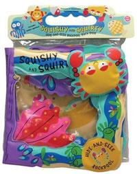 Squishy and Squirty: Hide-and-Seek Rockpool Bath Book