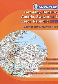 Germany, Benelux, Austria, Switzerland, Czech Republic 2010: Tourist and Motoring Atlas