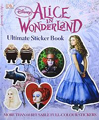 Alice in Wonderland. Альбом с наклейками