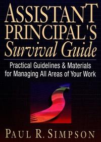 Assistant Principal?s Survival Guide