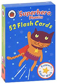 Superhero Phonics Flash Cards (набор из 52 карт)