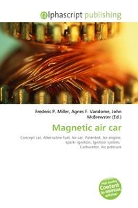 Magnetic air car