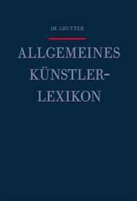 Allgemeines Kunstlerlexikon: Hai - Hammock (German Edition)