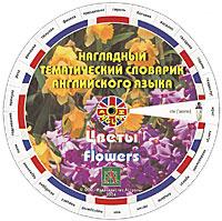 Наглядный тематический словарик английского языка. Цветы. Деревья и кустарники