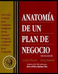 Anatomia de un plan de negocio