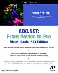 ADO.NET: From Novice to Pro, Visual Basic .NET Edition