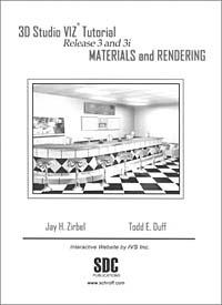 3D Studio Viz Tutorial Release 3 and 3I: Materials and Rendering