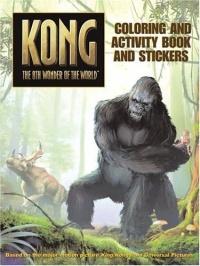 King Kong: Coloring and Activity Book and Stickers (King Kong)