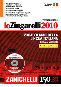 Lo Zingarelli 2010: Vocabolario della lingua italiana (+ CD-ROM)