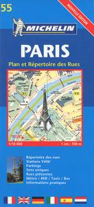 Paris: Plan et Repertoire des Rues