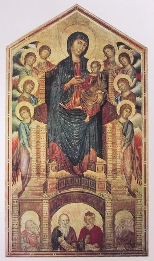 Die Anfange Der Italienischen Malerei