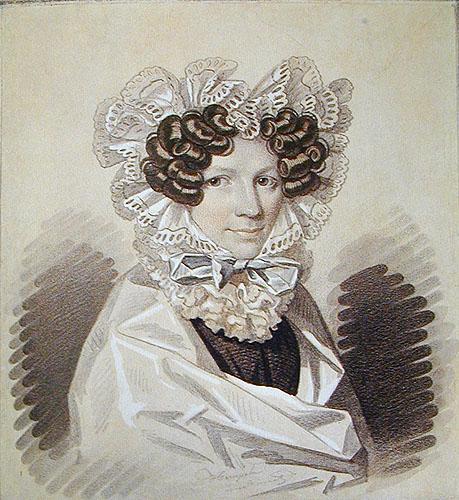 Русский акварельный и карандашный портрет первой половины XIX века из музеев РСФСР