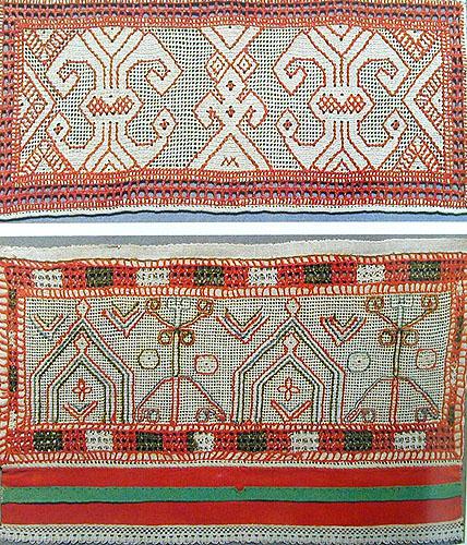 Народная вышивка Тверской земли
