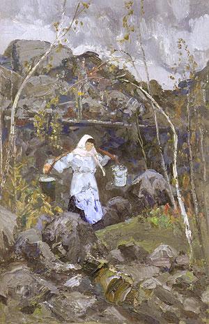 А. В. Овчаров. Живопись / Andrey Vladimirovich Ovchariov: The Everlasting Instant Landscape: Painting Art