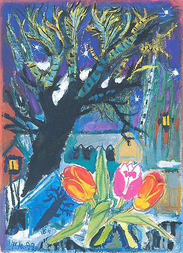 Мгновение, остановленное цветом Т. А. Маврина