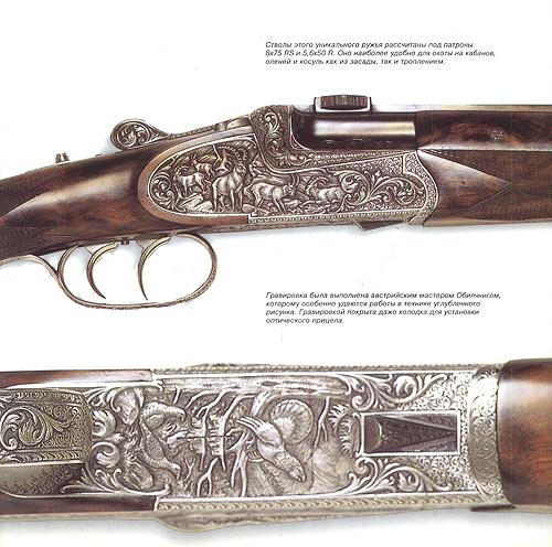 Охотничье оружие мира