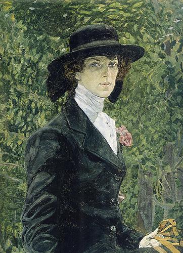 Головин - портретист