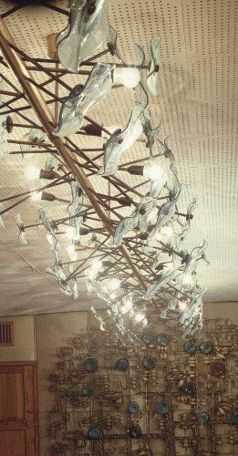 Декоративное стекло в Советской архитектуре. 1960 - 1980