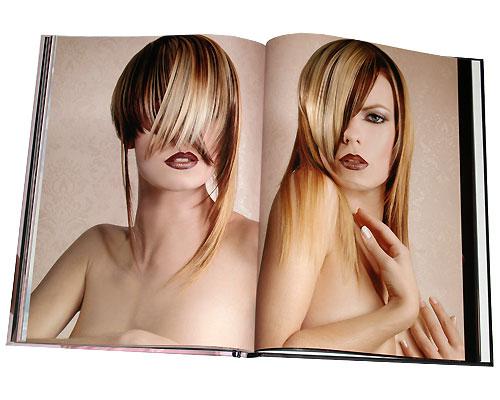 Коллекция женских причесок. Книга 1