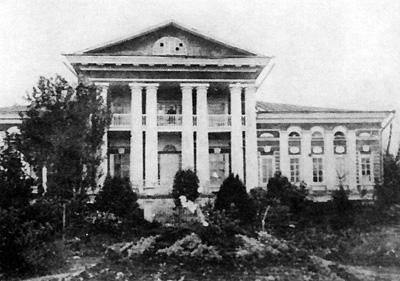 Руины старого дома