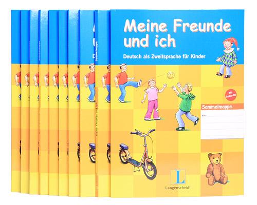 Meine Freunde und ich: Deutsch als Zweitsprache fur Kinder (+ CD-ROM) (комплект из 10 папок)