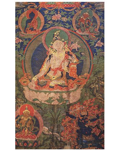 Тибетская живопись (тангка) из собрания Ю. Н. Рериха