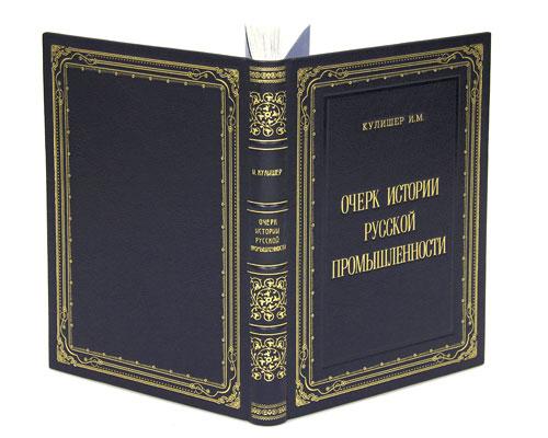 Очерк истории русской промышленности (эксклюзивное подарочное издание)