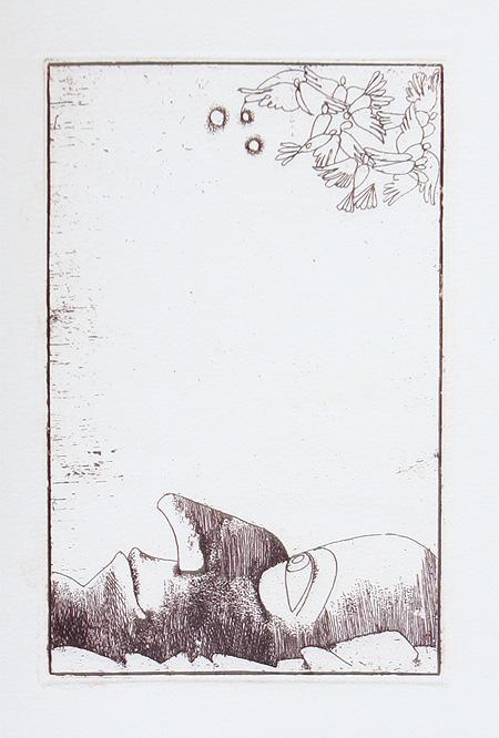 Аметисты + папка с сюитой из 11 офортов - Номерованный экземпляр №20 (подарочное издание)