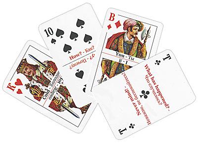 Учи, играючи! English 1 Люкс (комплект из 36 карт)