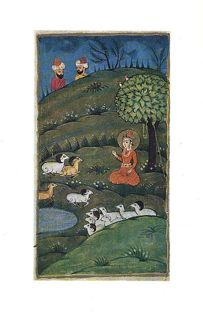 ��������� ���������� ��������� / Miniatures from kashmirian manuscripts