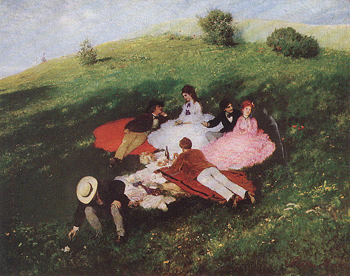 Жанровые картины венгерской национальной галереи