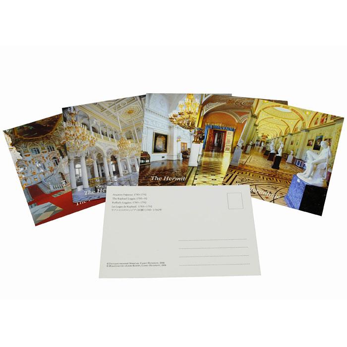 Эрмитаж. Интерьеры / The Hermitage: Interiors (набор из 16 открыток)