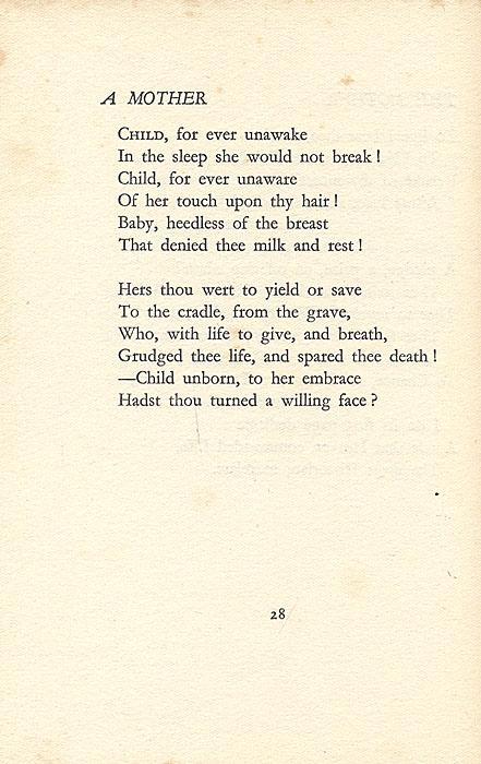 Уинифред Лукас. Избранные и поздние стихотворения