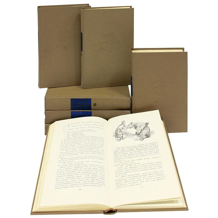 Н. В. Гоголь. Собрание сочинений в 7 томах (комплект из 7 книг)