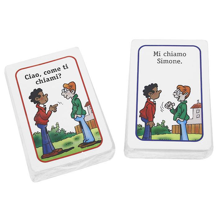 Super Bis: L'Italiano giocando (набор из 120 карточек)