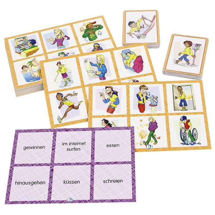 Verben Bingo (набор из 102 карточек)