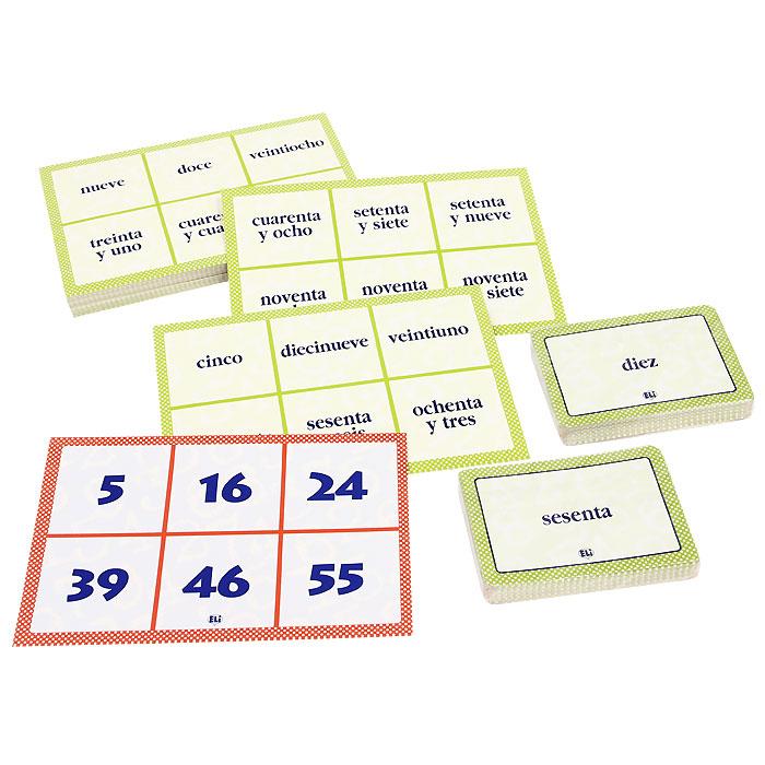 El Juego De Los Numeros (набор из 136 карточек)