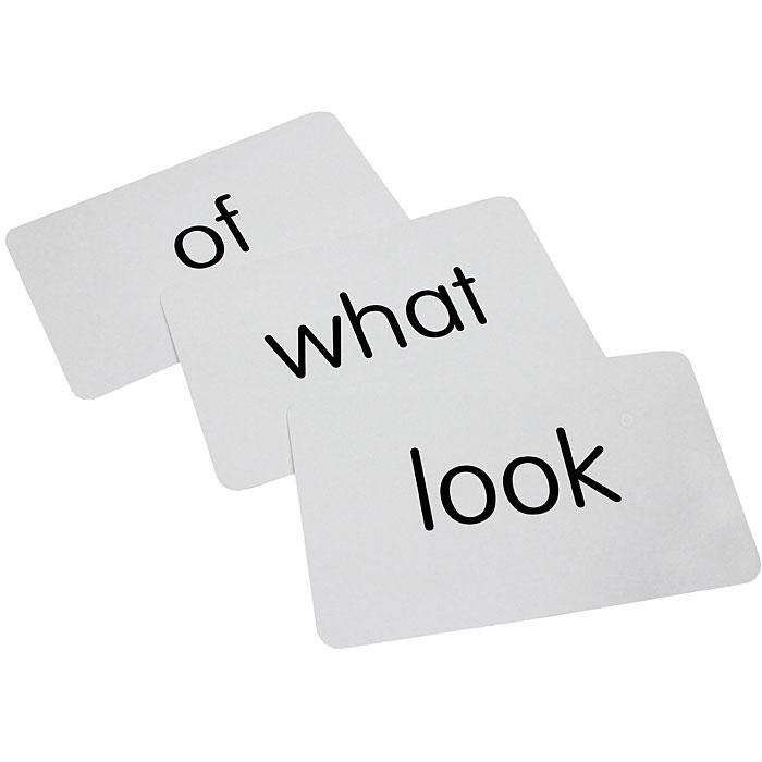 Key Words (50 Flash Cards)