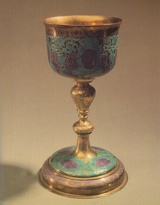 Русское серебро XIV- начала ХХ века из фондов Государственных музеев Московского Кремля