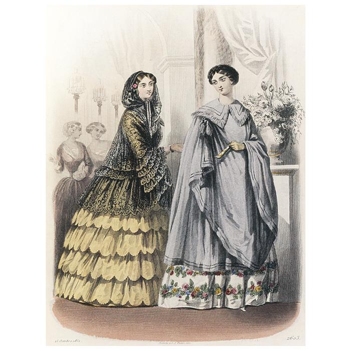Журнал высокой моды. Мода 1850-х годов