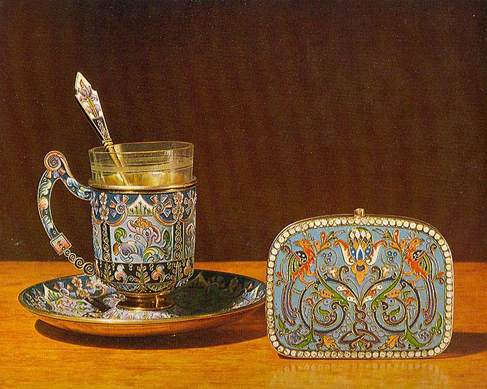 Русское художественное серебро XVII - начала XX века в собрании Государственного Эрмитажа