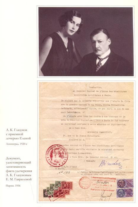 Возвращенное наследие. Александр Константинович Глазунов