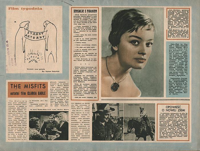 """Журнал """"Ekran"""". № 19 (213) за 1961 год"""