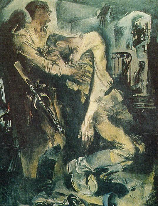 Le Musee Russe, Leningrad. Peinture