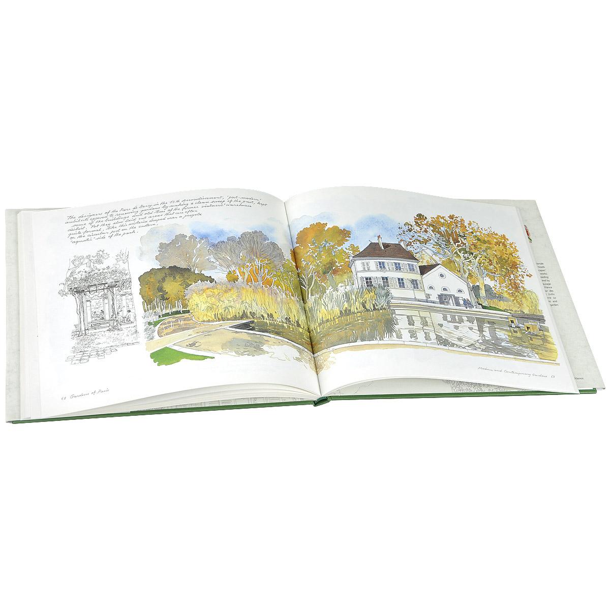 Gardens of Paris: Sketchbook