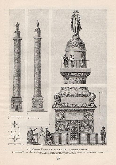 Монументы в архитектуре городов