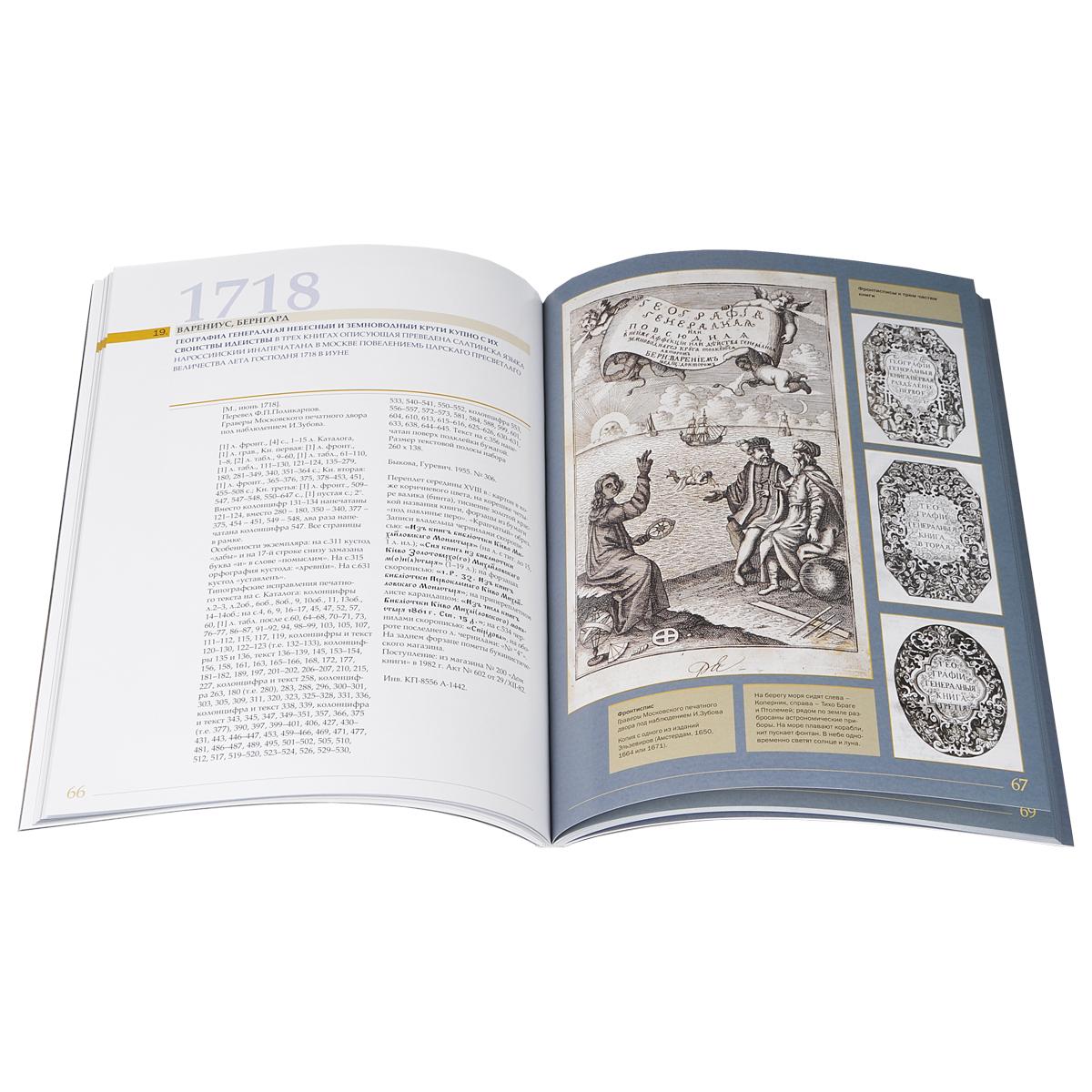 Книги гражданской печати 1708-1724 годов из собрания Московского государственного объединенного музея-заповедника Коломенское-Измайлово-Лефортово-Люблино